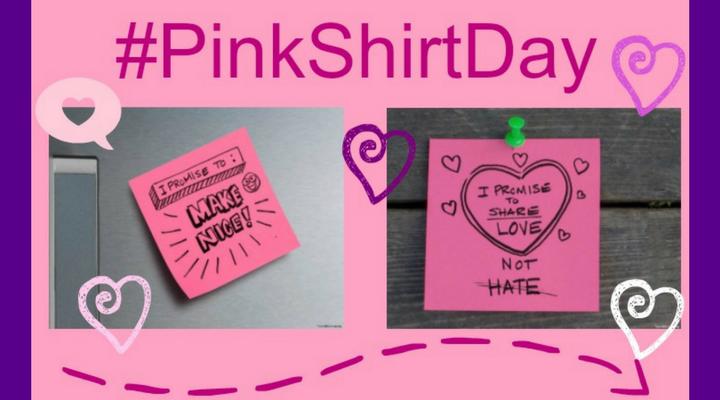 Pink Shirt Day: Wearing Anti Bullying Shirts
