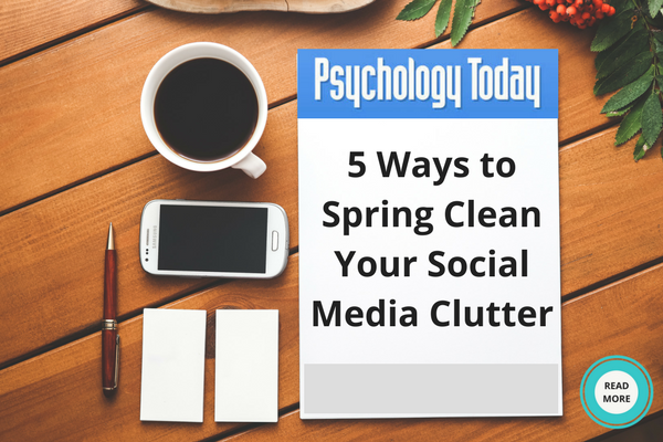 5 Ways to Spring Clean Your Social Media Clutter