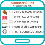 Summer Rules for Social Media
