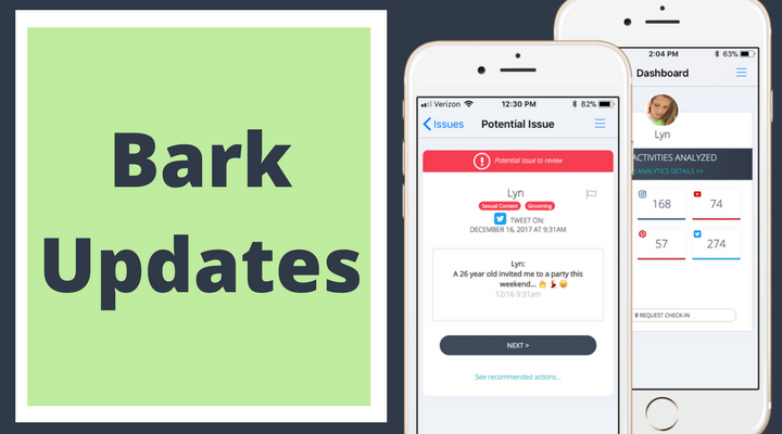 Bark App Updates: Bark for Kids Companion Apps!