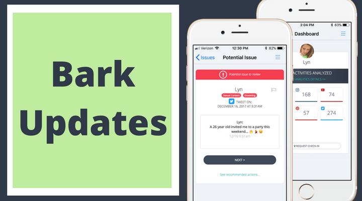 Bark App Updates: Bark for Kids Companion Apps!