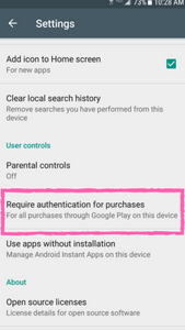 Parental Controls for Android