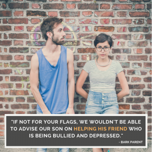 helping friend who is bullied and depressed