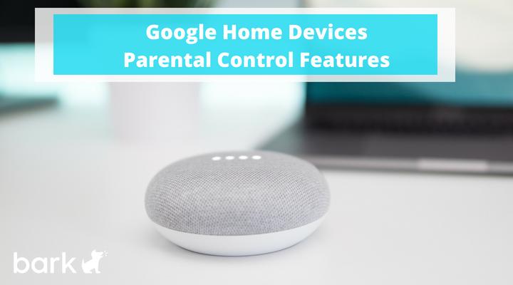 Google Home Devices Parental Control Features
