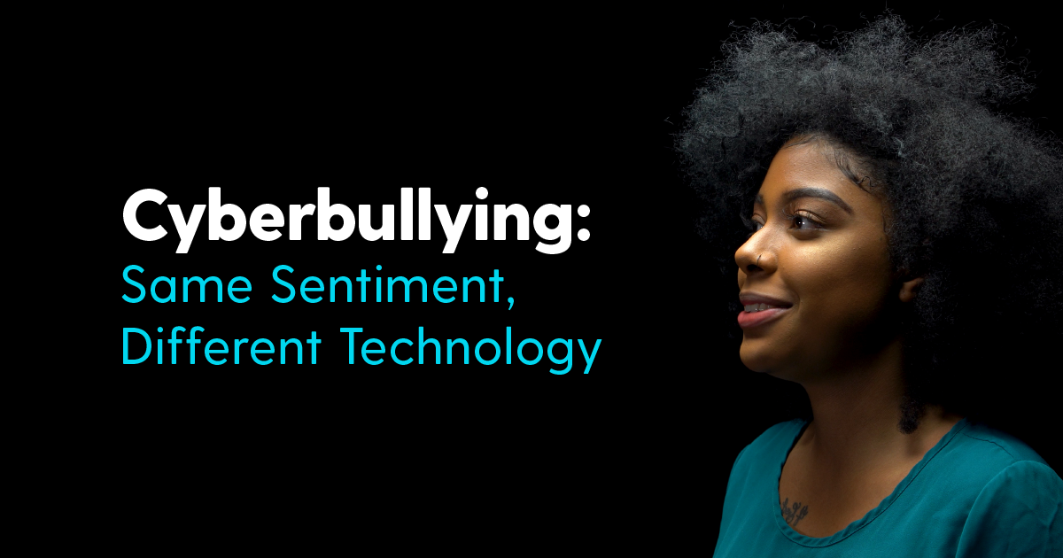 WATCH: Cyberbullying: Same Sentiment, Different Technology