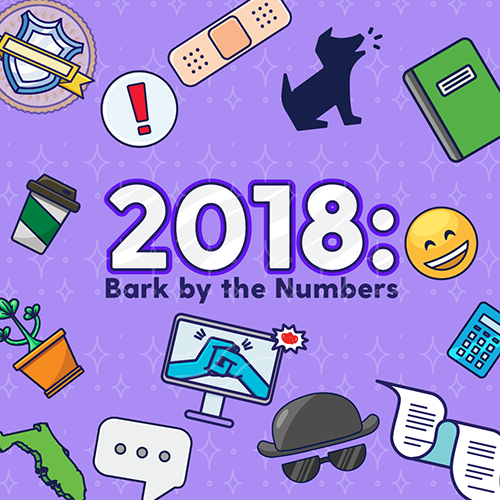 2018: Bark by the Numbers
