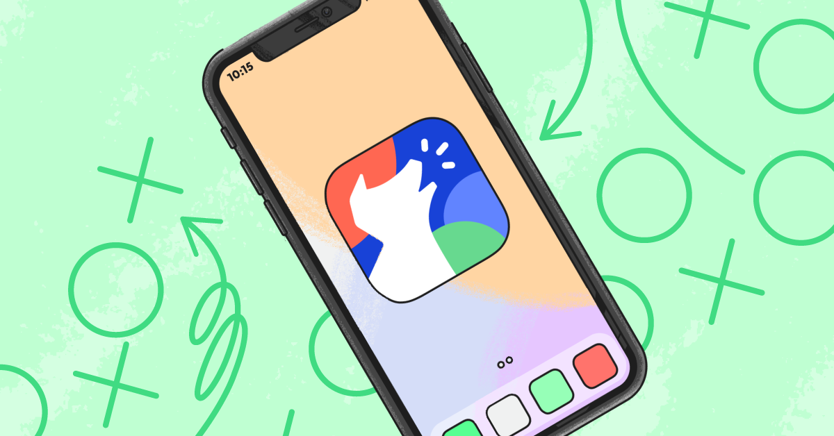 How to put restrictions on iPhone header image with cell phone featuring Bark logo