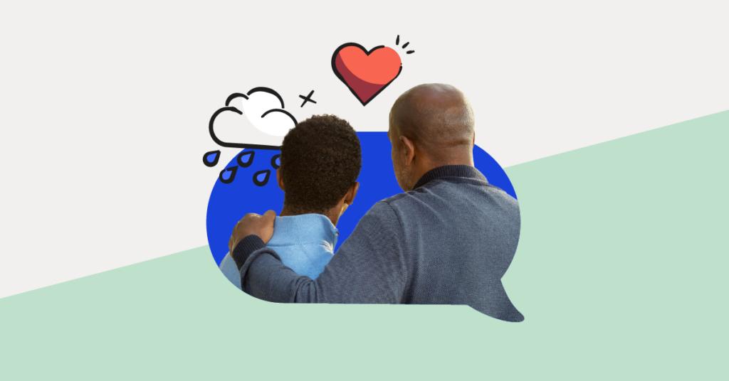 Parent and child image after suicide attempt