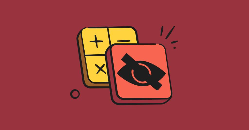 Hidden apps illustration