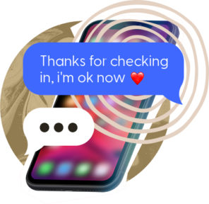 thanks for checking phone screen