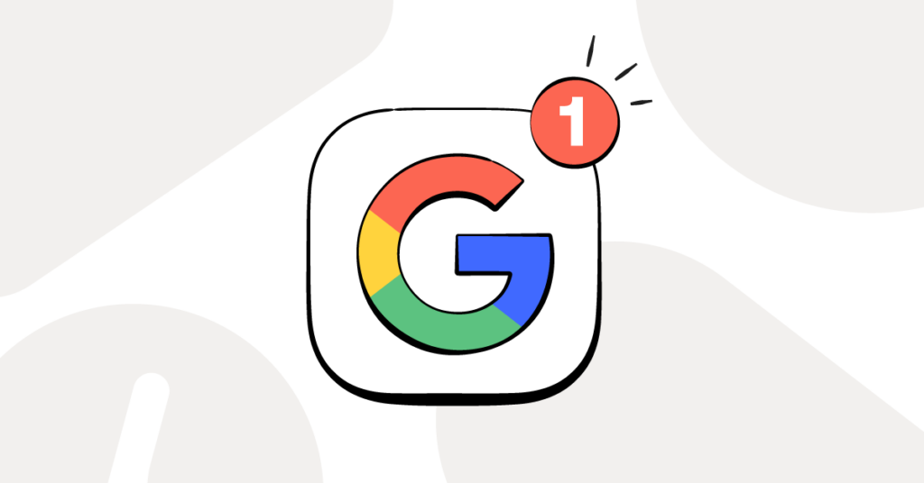 Safe search and other Google updates shown by the Google logo