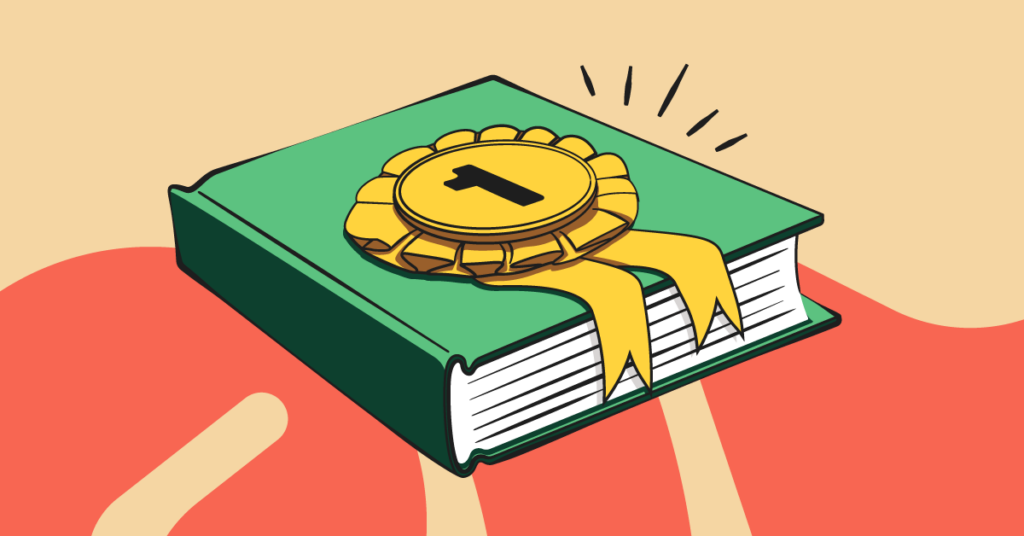 Books for teens illustration