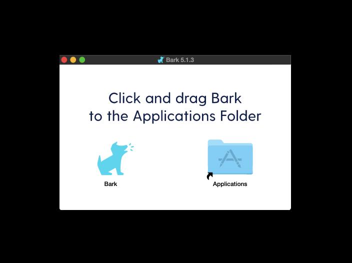 bark applications folder