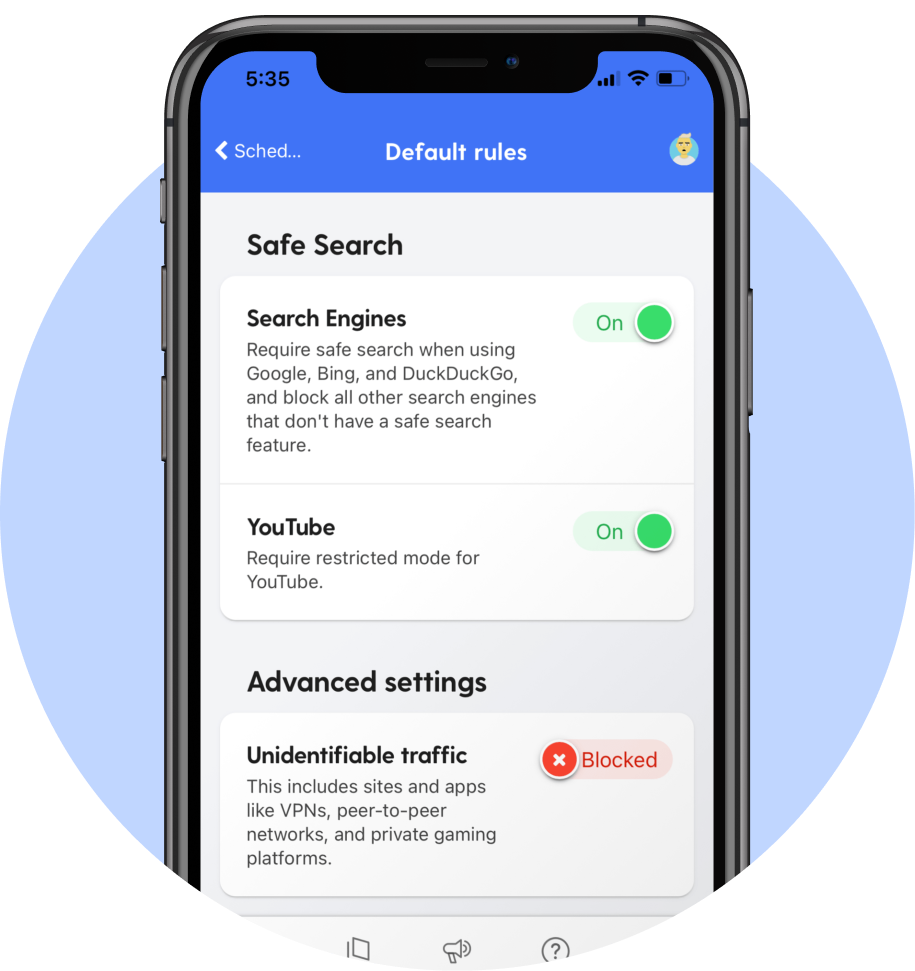 SafeSearch Options
