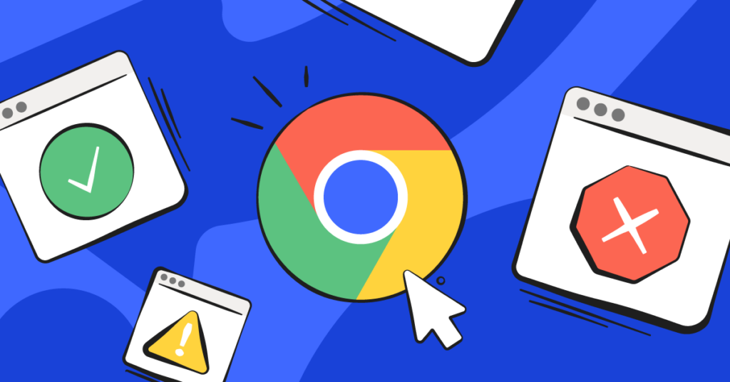 How to block websites on Chrome shown by different browser windows